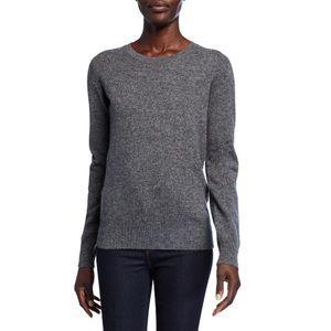 Neiman Marcus 100% Cashmere Crewneck Sweater
